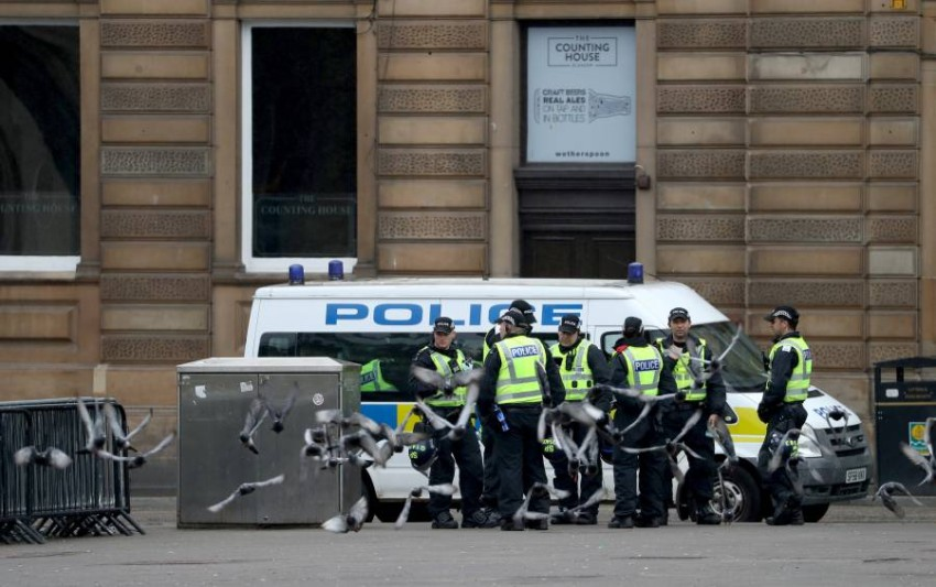 بريطانيا تعتقل مئات المجرمين. (رويترز)
