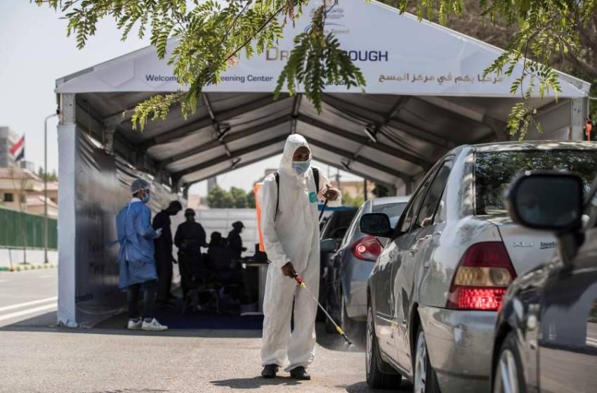 مصر تسجل 86 وفاة و1485 إصابة جديدة بكورونا. (أ ف ب)