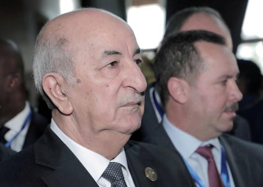 الرئيس الجزائري. (رويترز)