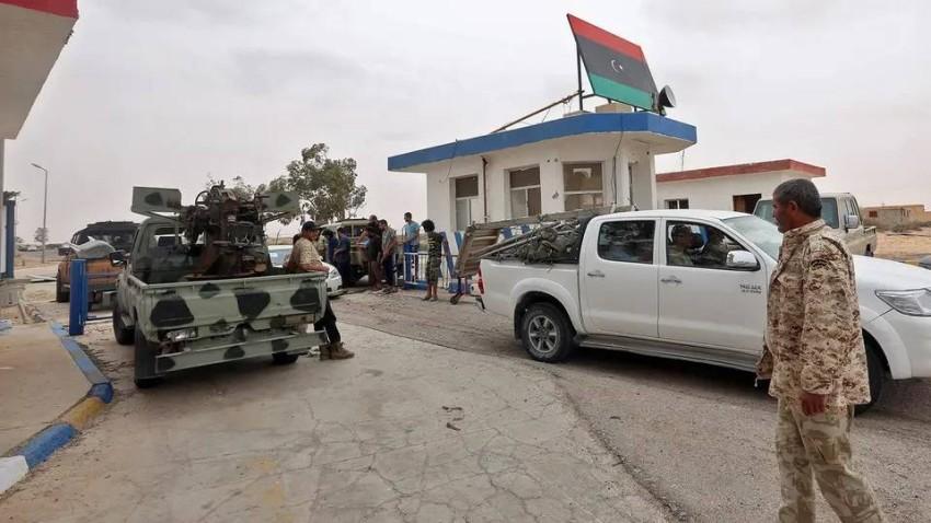 قاعدة الوطية العسكرية.