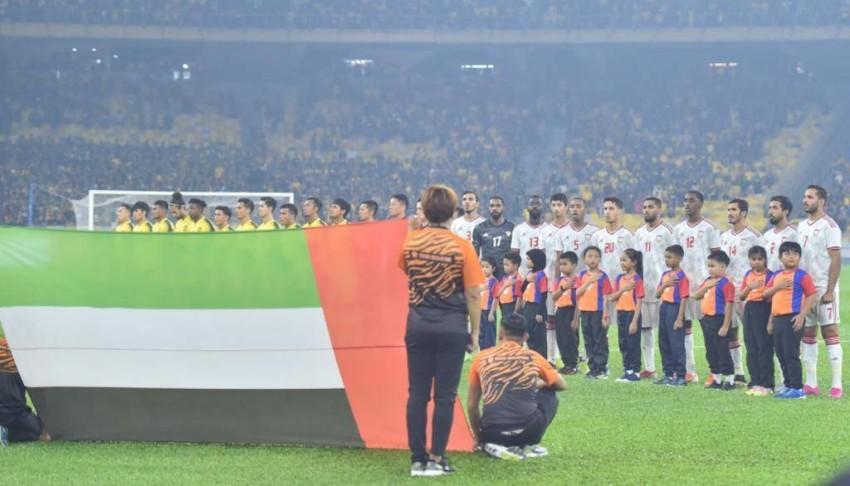 من مباريات منتخب الإمارات. (الرؤية)