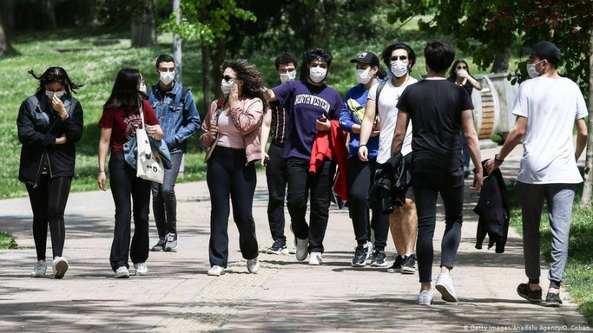 طلاب أتراك. (المصدر)