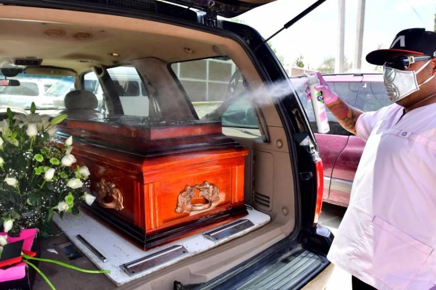 وفيات كورونا في المكسيك تتجاوز 30 ألفاً. (إي بي أيه)