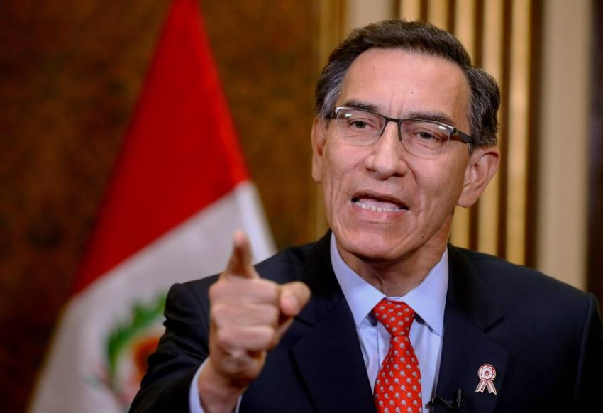 رئيس بيرو. (أ ف ب)
