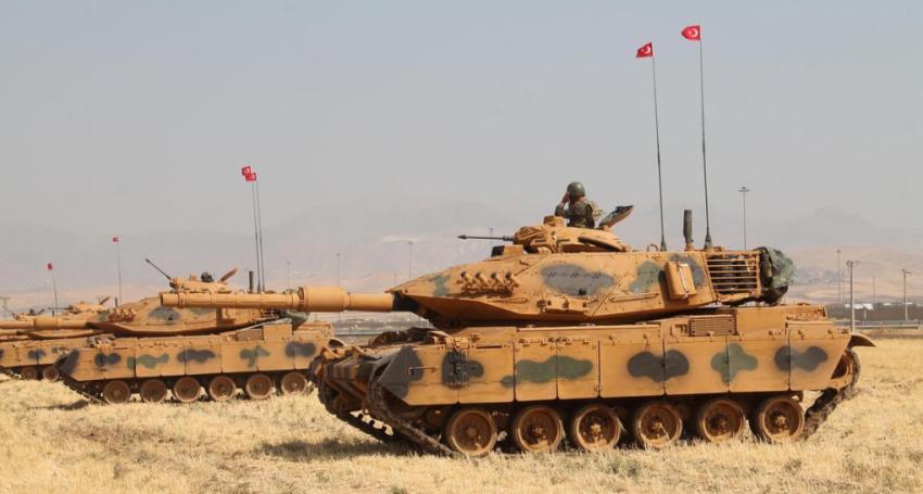 قوات تركية تنتهك سيادة العراق. (رويترز)