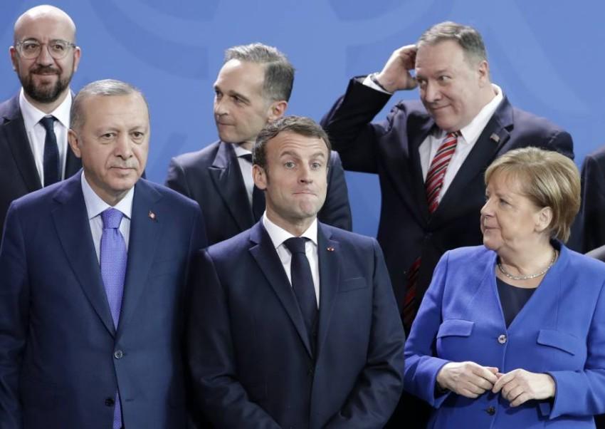 أوروبا منقسمة حول التدخل التركي في ليبيا. (أ ف ب)