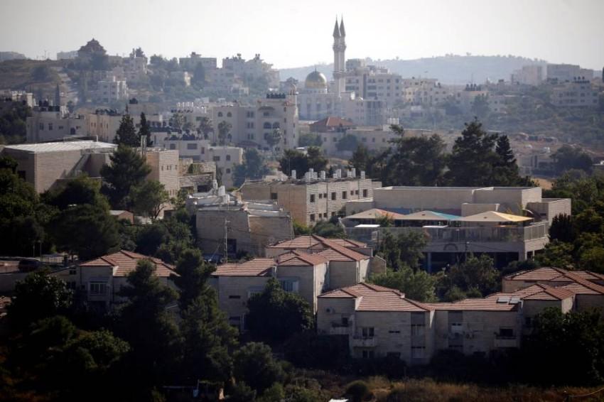 مستوطنة إسرائيلية بالضفة الغربية المحتلة. (رويترز)