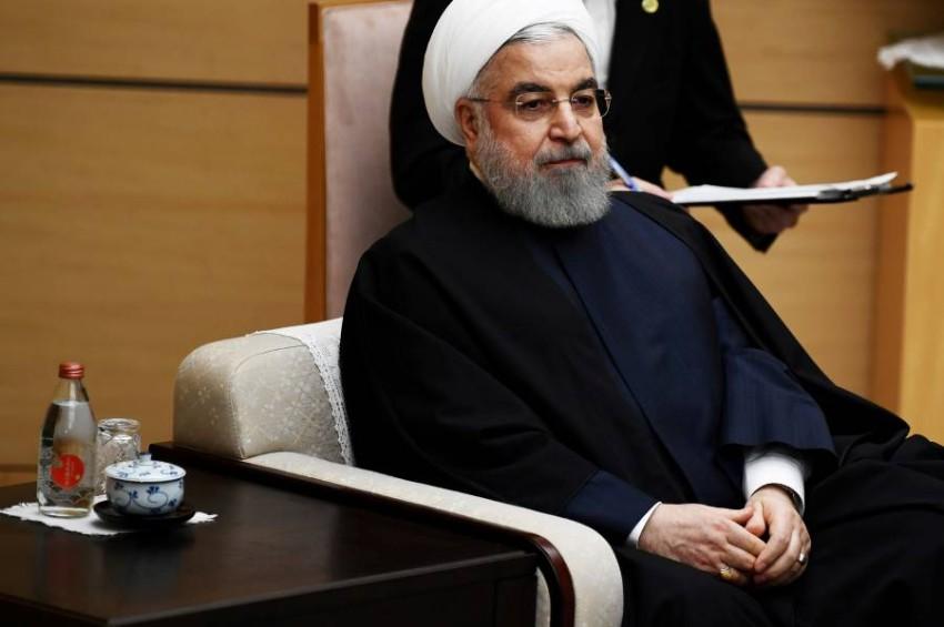الرئيس الإيراني حسن روحاني. (رويترز)