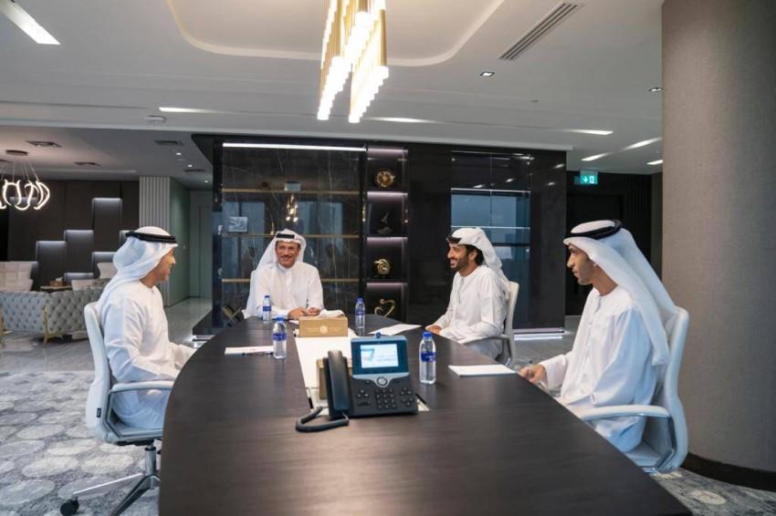 خلال الاجتماع. (الصورة من المصدر)