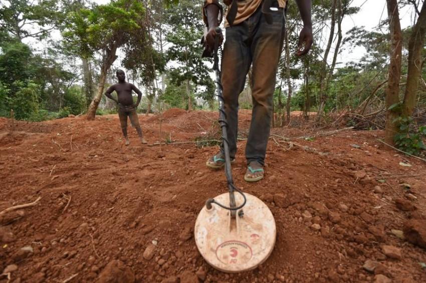 يقدر خبراء كمية الذهب المستخرج بشكل تقليدي في ساحل العاج بنحو 30 طناً سنوياً. (أرشيف ـ أ ف ب)
