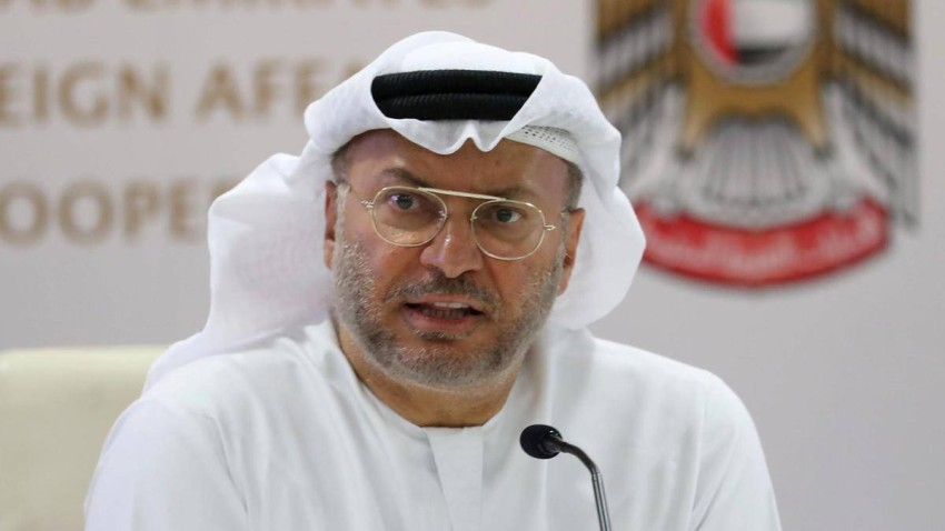 وزير الدولة للشؤون الخارجية رئيس اللجنة الوطنية لحقوق الإنسان، الدكتور أنور بن محمد قرقاش. (أرشيفية)