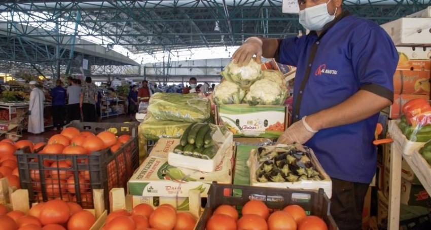 سوق الخضار والفواكه في دبي. (من المصدر)