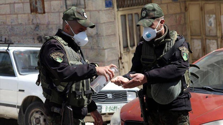 الاجهزة الشرطية في الضفة الغربية.(الرؤية)