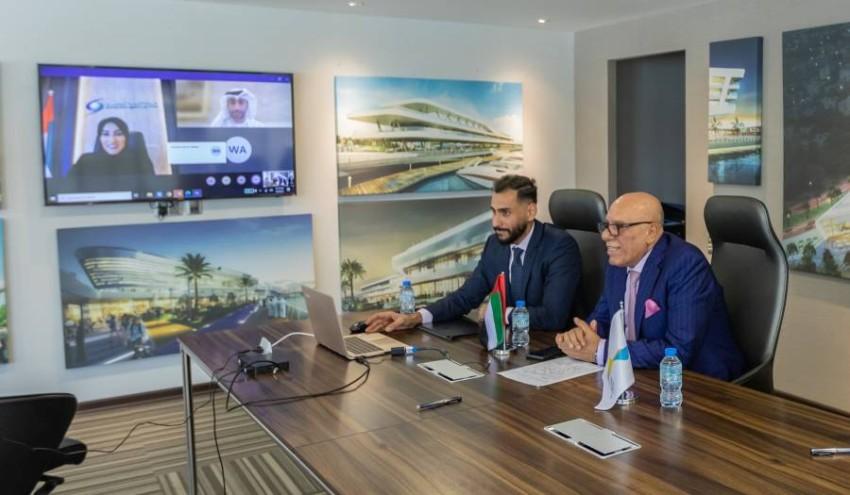 فؤاد مشعل، الرئيس التنفيذي لشركة البركة الدولية للاستثمار خلال مراسم التوقيع على الاتفاقية.