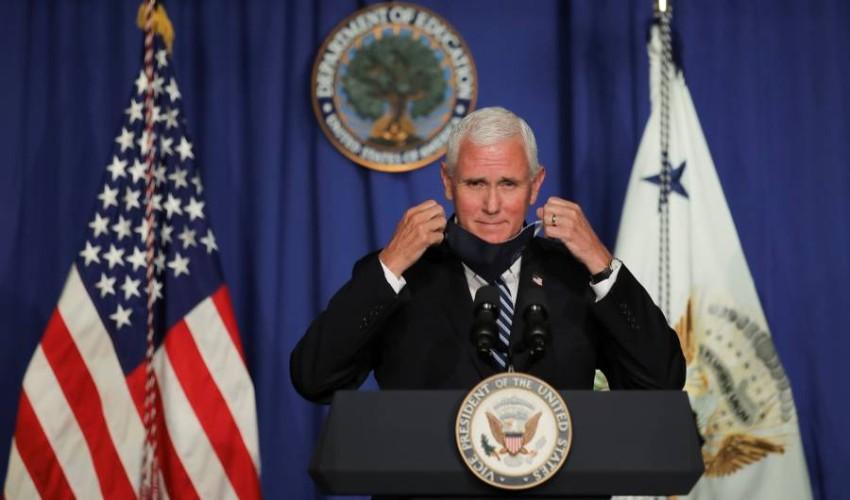 نائب الرئيس الأمريكي مايك بنس. (رويترز)
