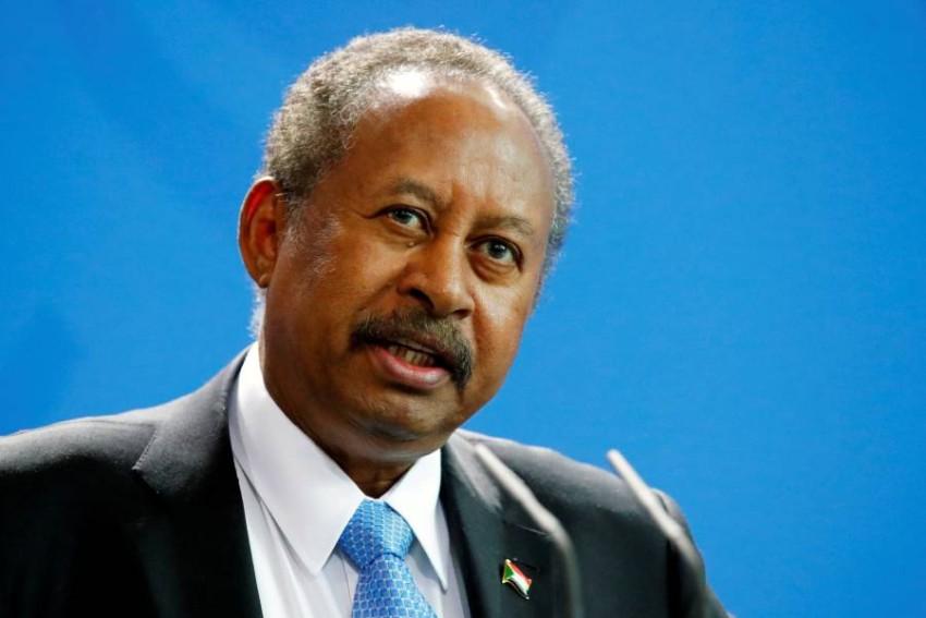 رئيس الوزراء السوداني عبدالله حمدوك . (رويترز)