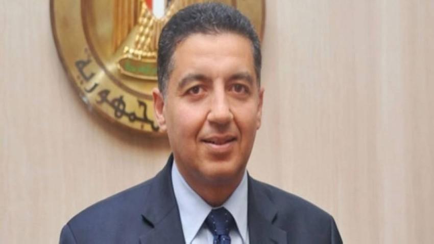 عمر عامر سفير مصر في فيينا ومندوبها الدائم لدى المنظمات الدولية في النمسا. (رويترز)