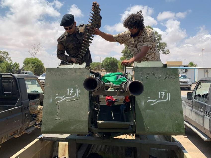 المرتزقة ارتكبوا العديد من الجرائم في ليبيا. (رويترز)
