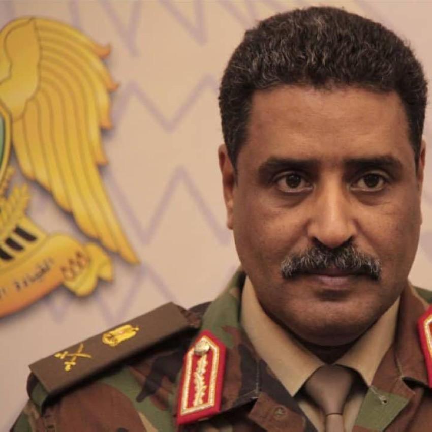 اللواء أحمد المسماري.