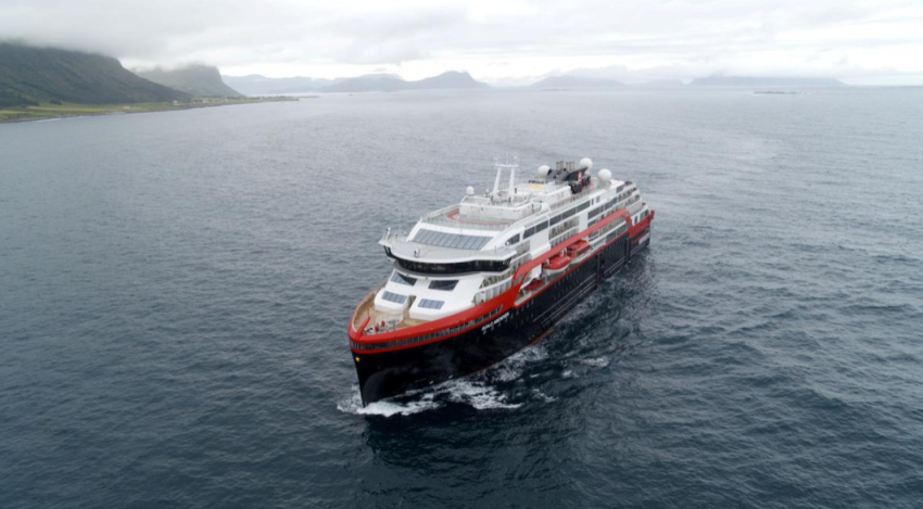 السفينة النرويجية. (رويترز - أرشيفي)