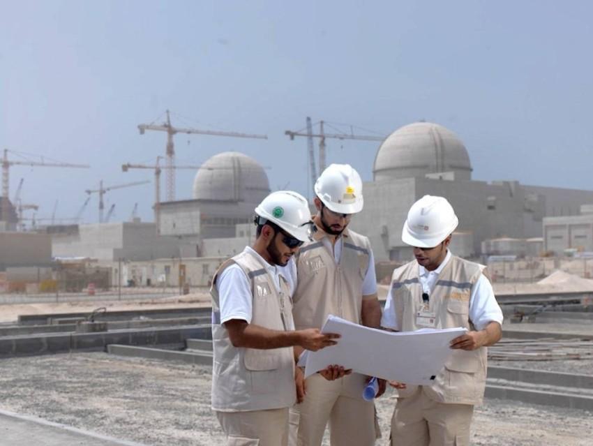 الإمارات نجحت في تشغيل أول مفاعل سلمي للطاقة النووية. (وام)