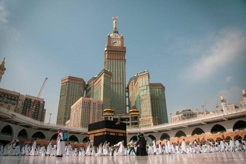 حجاج بيت الله الحرام في مكة. (إي بي أيه)