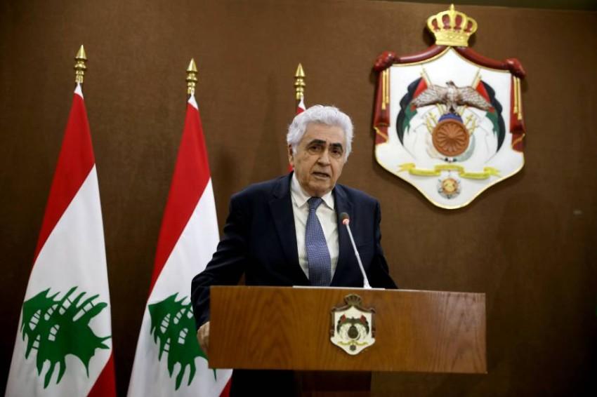 وزير الخارجية اللبناني. (رويترز - أرشيفي)