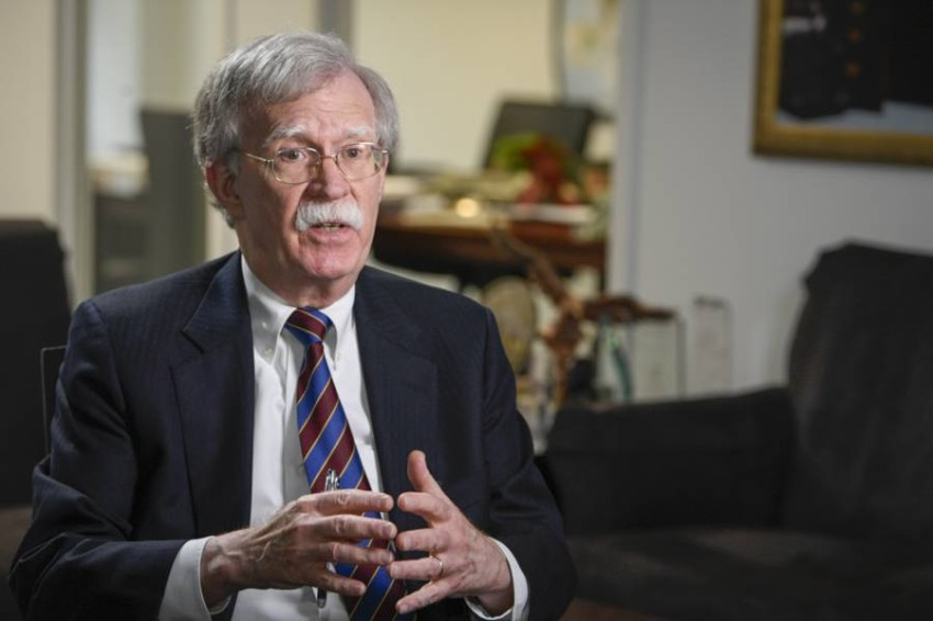 جون بولتون المستشار الأمني السابق للرئيس الأمريكي دونالد ترامب. (رويترز)