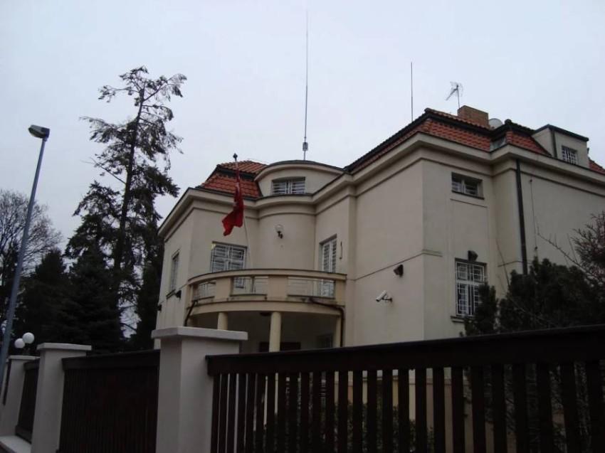 السفارة التركية في براغ. (أرشيفية)