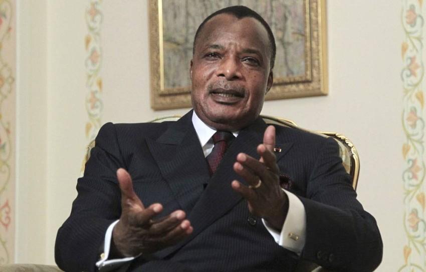 الرئيس الكونغولي ديني ساسو نغيسو. (أرشيف)