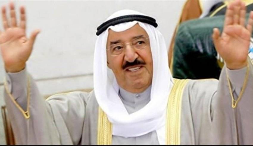 أمير الكويت الشيخ صباح الأحمد الجابر الصباح. (من المصدر)