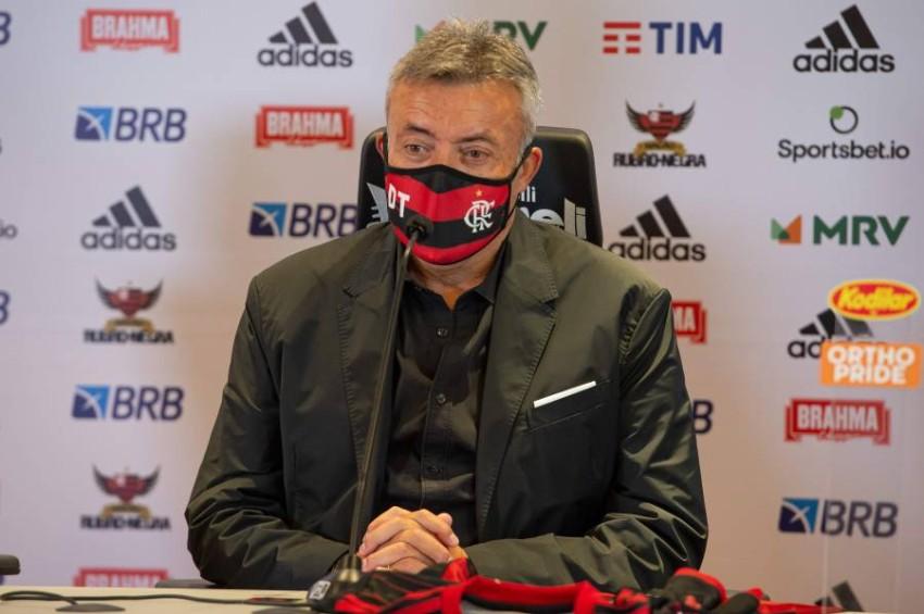 الإسباني دومينيك تورينت مدرب فلامنغو الجديد. (أ ف ب)