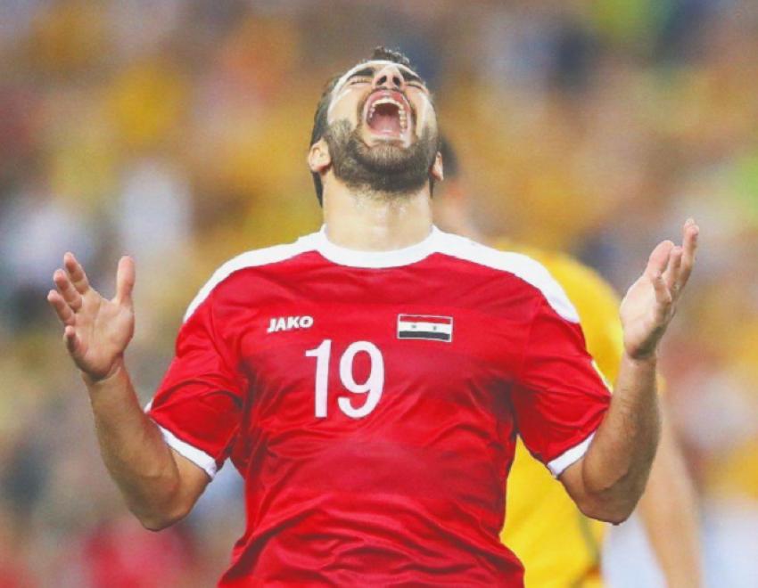 لاعب منتخب سوريا مارديك مارديكيان. (الرؤية)