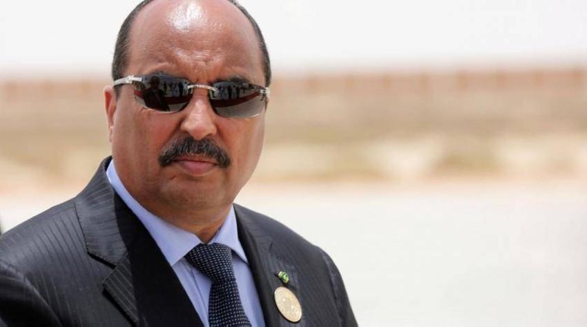 الرئيس الموريتاني السابق محمد ولد عبدالعزيز. (رويترز)