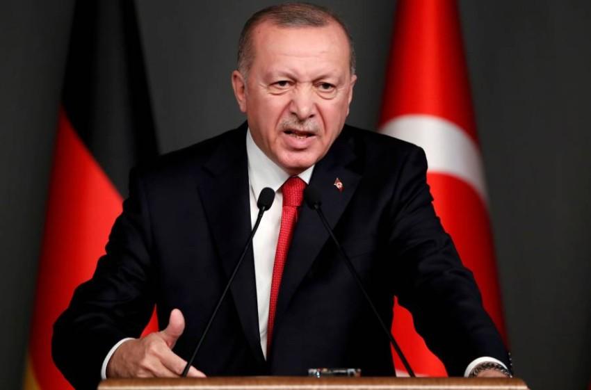 الرئيس التركي. (رويترز)