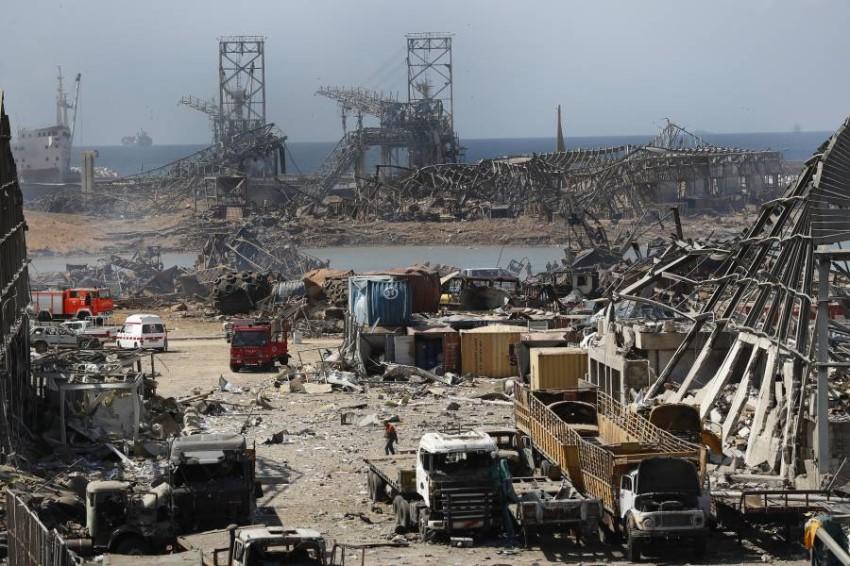 منظمة الصحة العالمية ترسل مساعدات طارئة إلى لبنان. (أ ب)