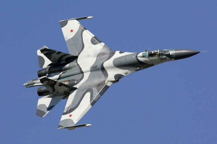 طائرة روسية مقاتلة من طراز سوخوي-27. (أرشيفية)