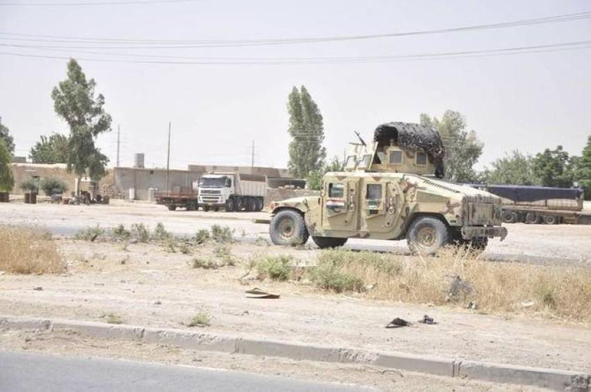 قوات أمن عراقية في كركوك. (رويترز)