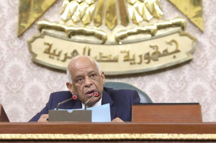 رئيس البرلمان المصري. (أ ف ب)
