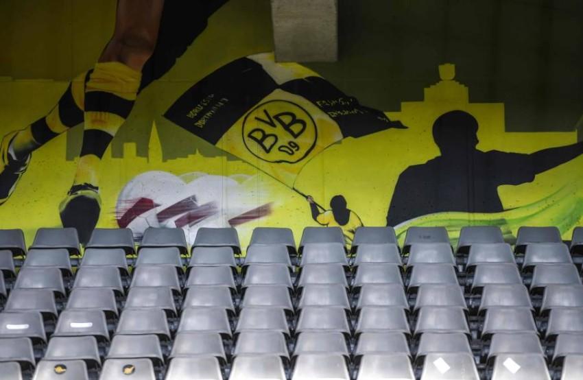 ملعب سيغنال إيدونا بارك معقل دورتموند. (أ ف ب)