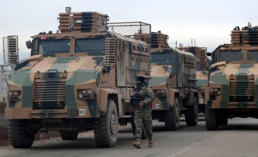 قوات تركية في سوريا. (رويترز)