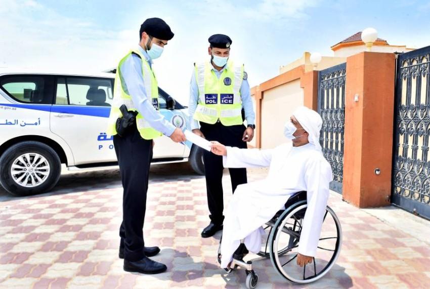 مبادرة إنسانية لذوي الإعاقة بالتعاون مع نادي الثقة. (من المصدر)