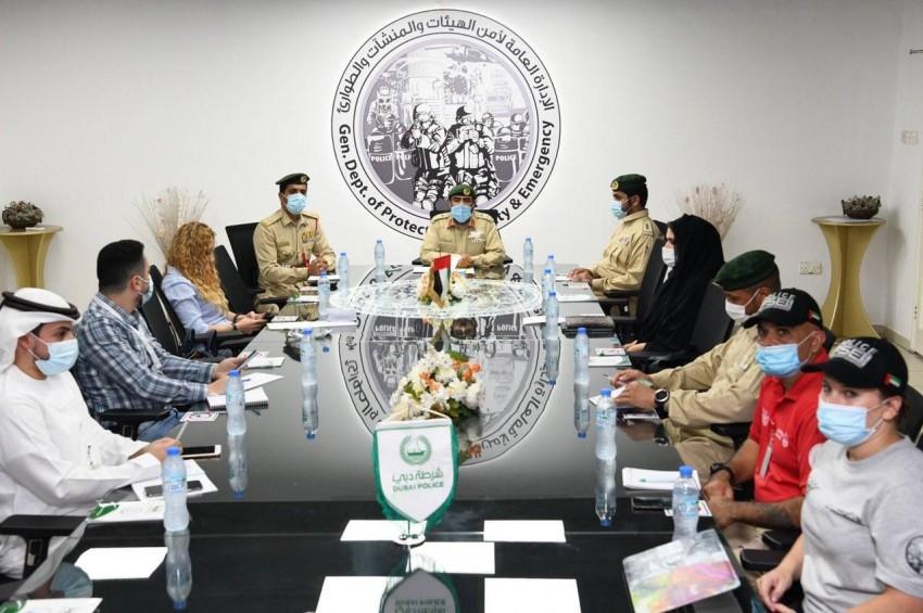 شرطة دبي تعلن عن موعد انطلاق ملتقى الكلاب البوليسية الدولي الثالث. (من المصدر)