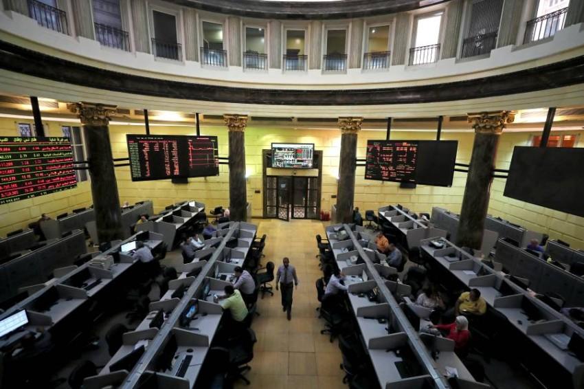 البورصة المصرية. (رويترز)