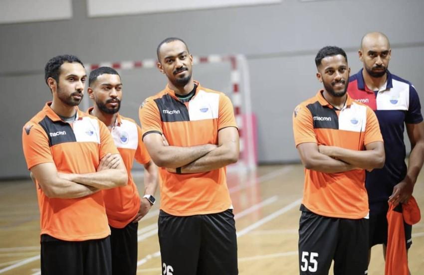 فريق الشارقة لكرة اليد. (الرؤية)