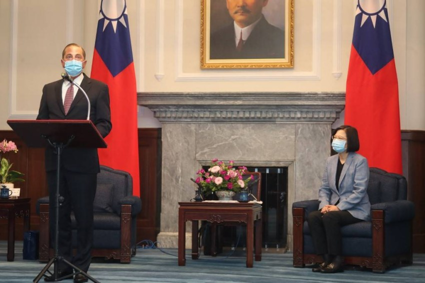 تايوان تبلغ واشنطن بأن الصين يمكن أن تحولها إلى «هونغ كونغ أخرى» - رويترز