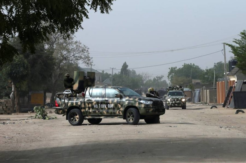 قوات بالجيش النيجيري. (رويترز)