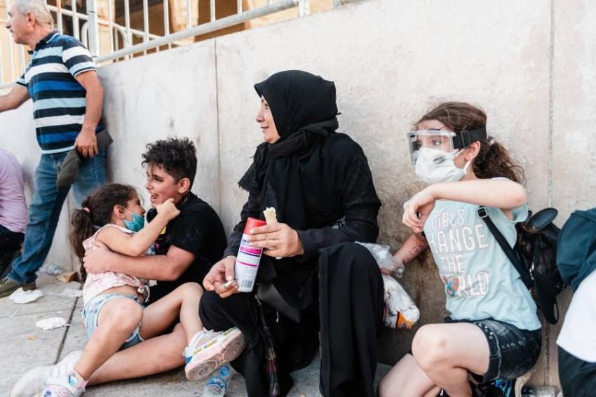 بين ضحايا الانفجار، طفل أسترالي في الثانية من عمره وطفلة لبنانية في الثالثة - رويترز