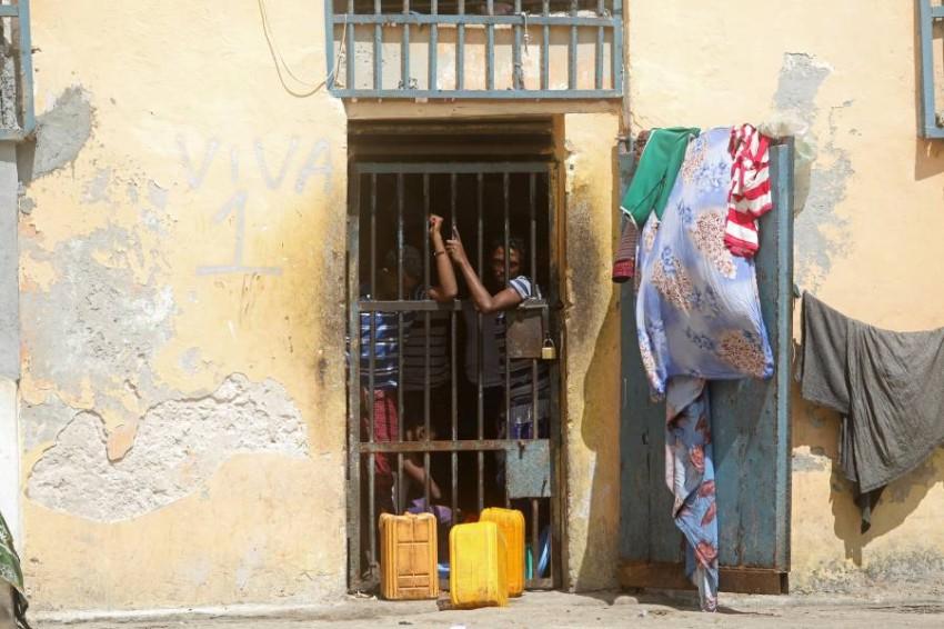 سجين بسجن مركزي في مقديشو. (رويترز)