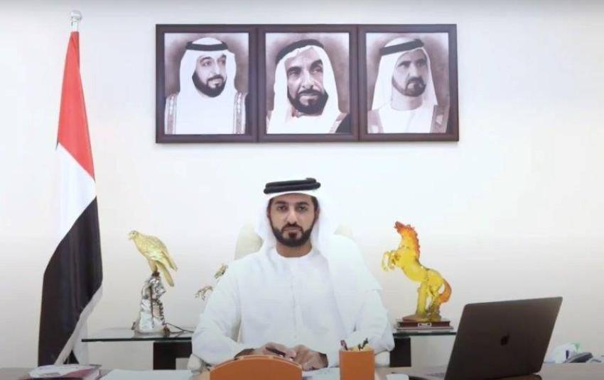 الشيخ راشد النعيمي.